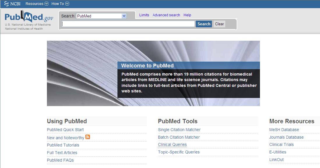 Pubmed – Dr. med. Thomas Walsers Medizinische Website